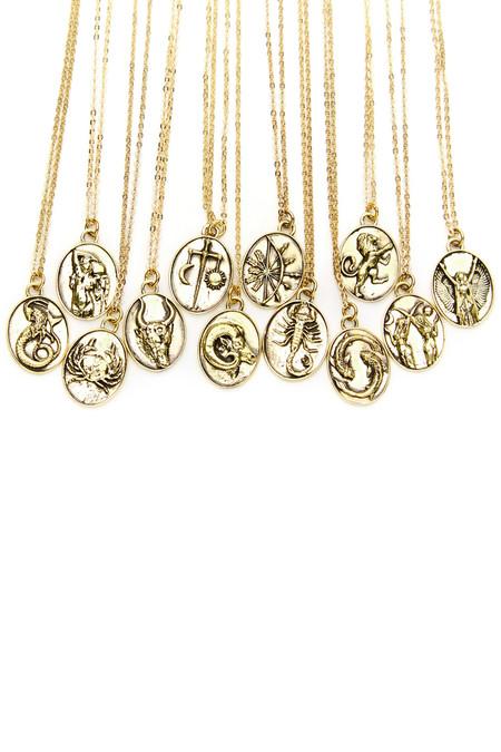 Talon Gold Aries Necklace
