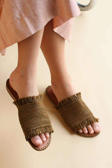 Proud Mary Fringe Sandal