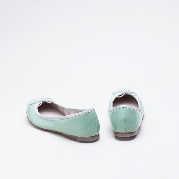 Bloch London Patent Ballerina - Seafoam