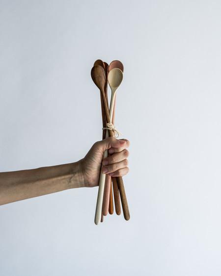 Roost Long Handle Tasting Spoons Set of 6