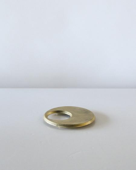 Futagami Moon Brass Trivet