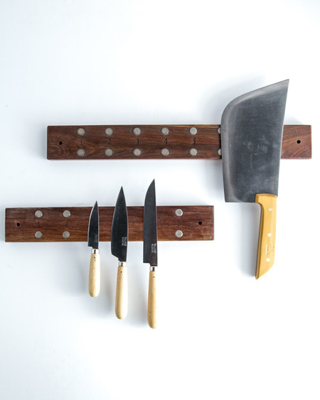 Peg & Awl Reclaimed Wooden Knife Rack