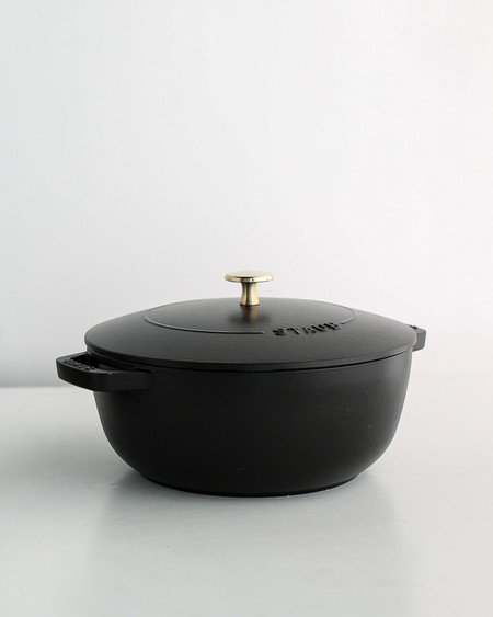 Staub x Kettle & Brine Special Edition Enameled Cast Iron Essential French Oven