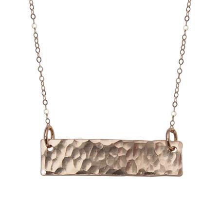 Strut Jewelry Bar Necklace