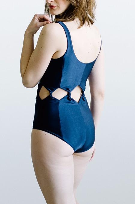 Samantha Pleet Tabernacle Swimsuit - Dark Indigo