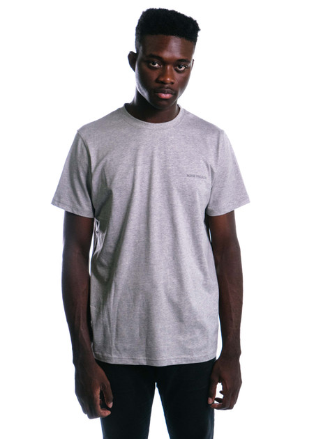 Norse Projects Niels Logo (Light Grey Melange)