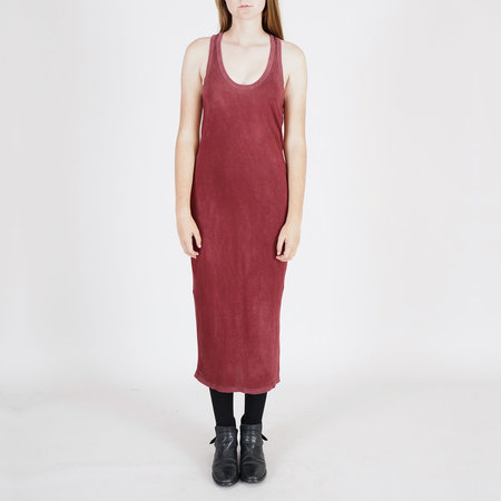 Cotton Citizen Racer Back Midi Dress - Burgundy