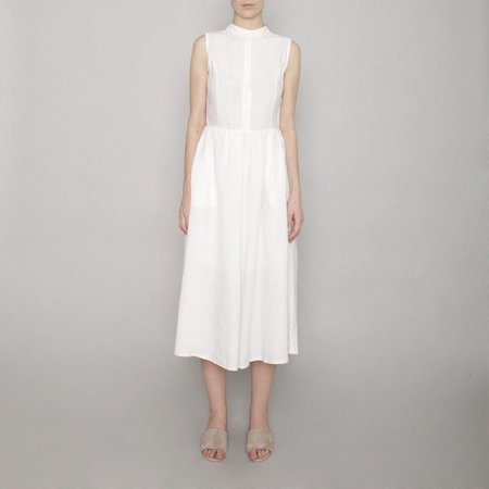 7115 By Szeki Textured Princess Dress - Off White