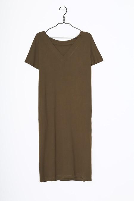 Kowtow Reversible Moss Dress
