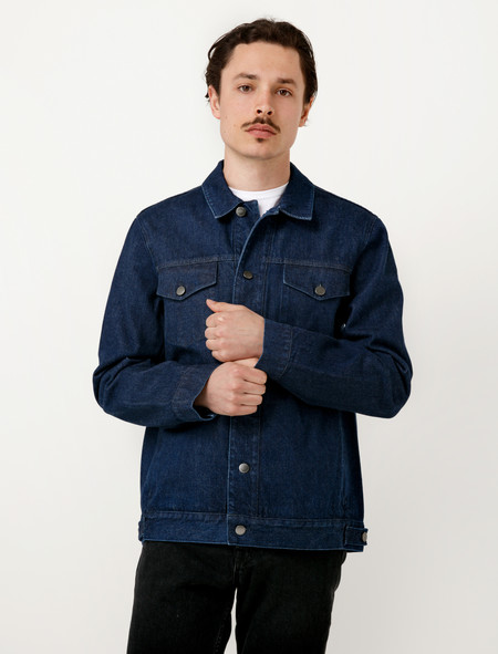 Sunspel Denim Jacket Navy