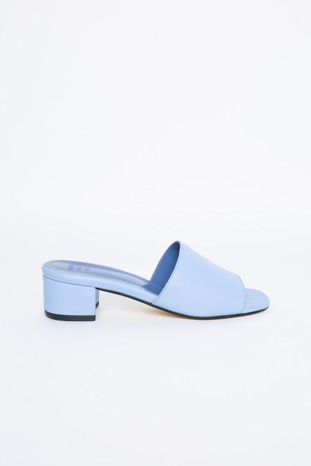 Maryam Nassir Zadeh Sophie open toe mule in slate blue