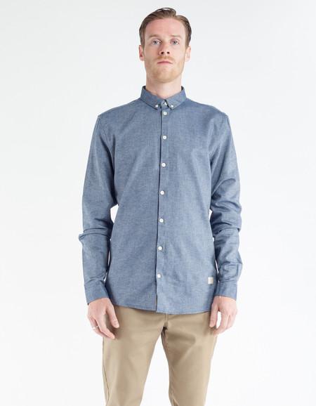Minimum Crest Shirt Medium Blue