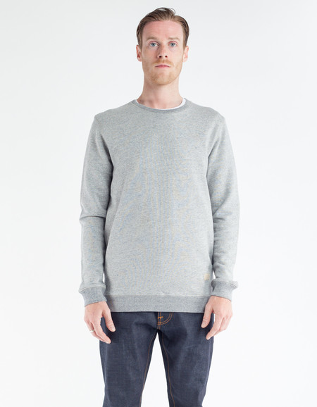 Minimum Resolano Sweatshirt Faded Denim Melange