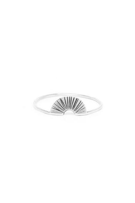 I Like It Here Club Biarritz Ring, silver