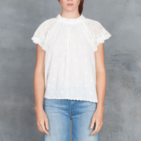 Ulla Johnson Benedicte Top in Natural