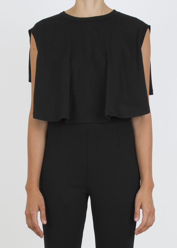 complexgeometries circle crop top