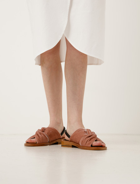 Robert Clergerie Blosst Velvet Sandal