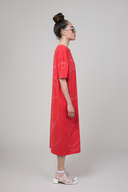 Vender The oneliner in red