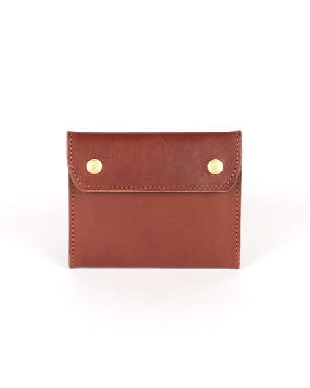 Wood&Faulk cask brown Holland Leather Wallet