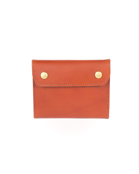 Wood&Faulk Chestnut Holland Leather Wallet