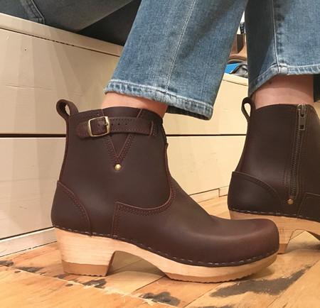 """No.6 5"""" Buckle Boot - Mid Heel"""