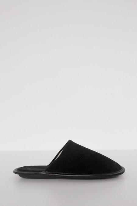 Lisa B. Women Suede Slipper - Black