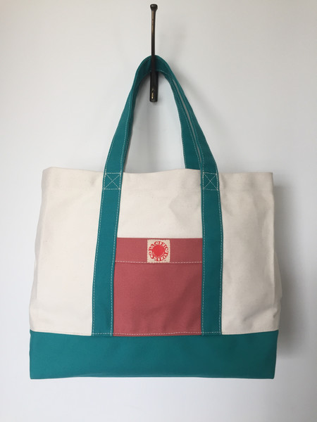 Pacific Tote Co. Large Canvas Tote Bag