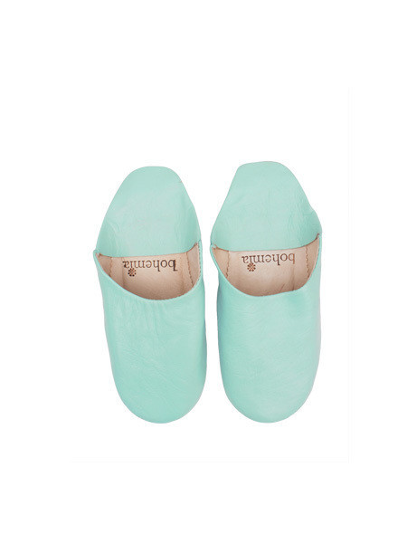 Bohemia - Moroccan Babouche Slippers / Sage