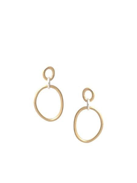 In God We Trust Cory Deux Earring - Brass