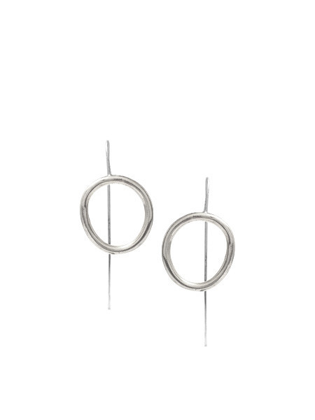 IGWT Cory Staff Earrings - Silver