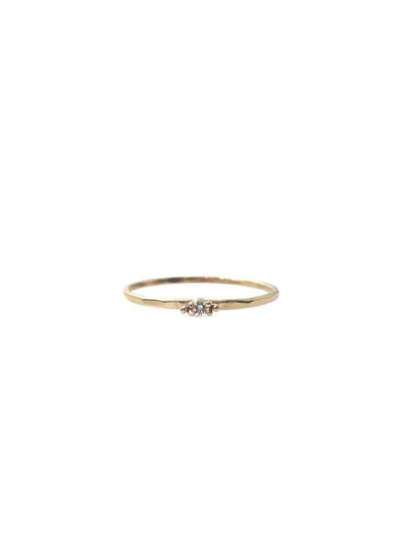 IGWT Diamond Krone Ring / Gold