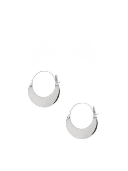 IGWT Mozi Hoop Earrings - Silver