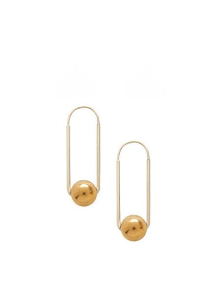 In God We Trust Titan Earrings
