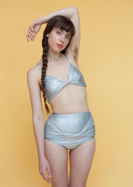 Samantha Pleet Vortex Bikini Top