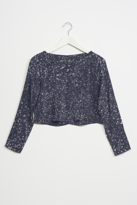 Osei-Duro Vesper Top in Midnight Blush
