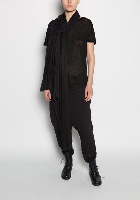 Thom / Krom Linen Open Back Tee Shirt