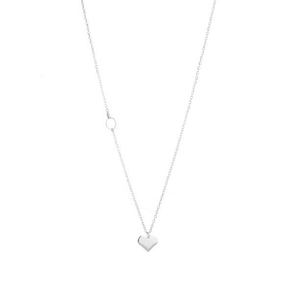 Lisbeth Heart Pendant Necklace