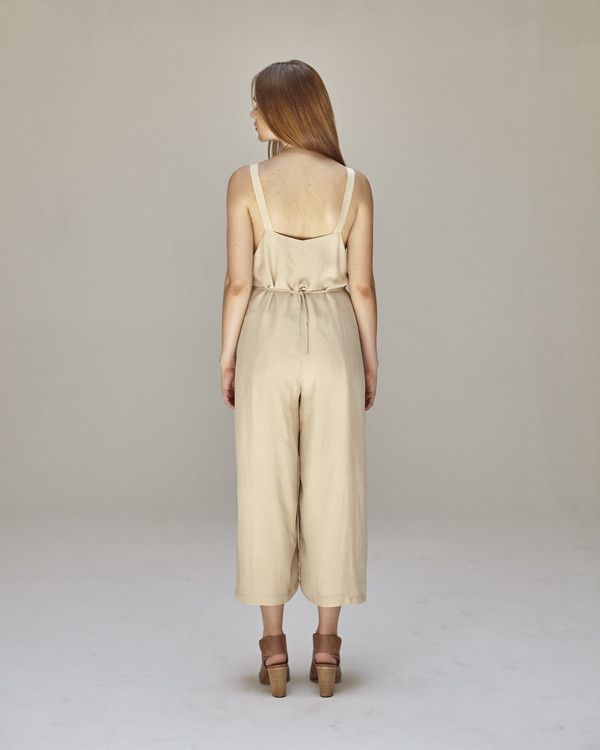 Shaina Mote Florence Jumpsuit in Buff