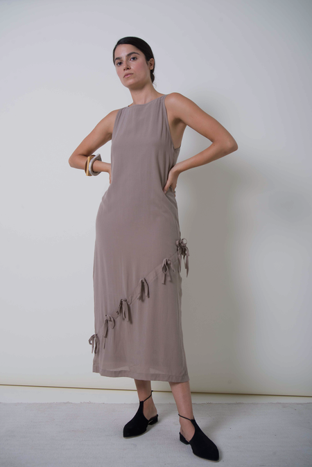 Ajaie Alaie Half Moon Dress - Coastal