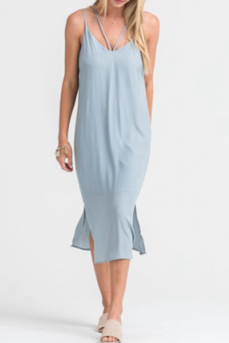 Sunday Supply Co. Strappy Grey Dress