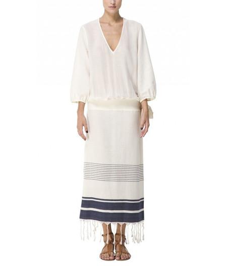 SU' Long Slit Side Laguna Dress