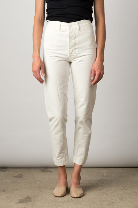 Jesse Kamm Ranger Pant In Salt White