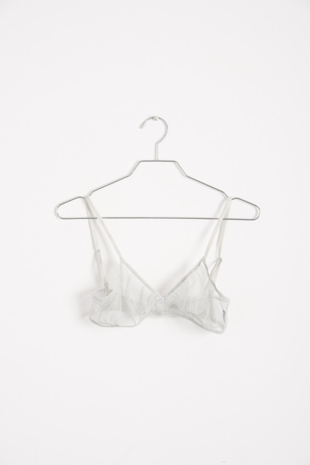 Laura Urbinati Triangle Bra in Mastice