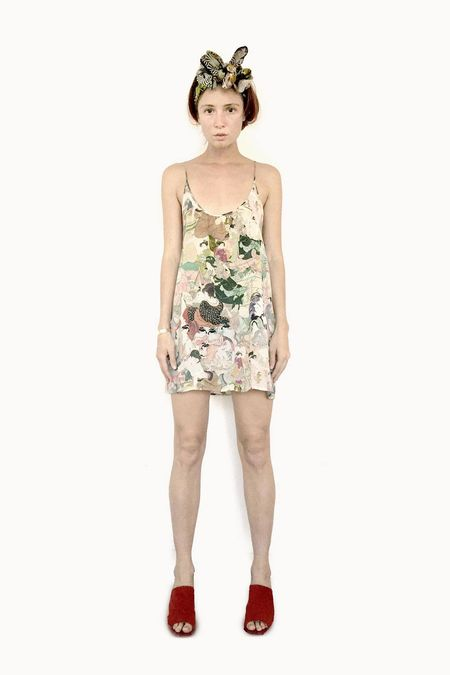Strathcona Japanese Lover Silk Camisole Dress