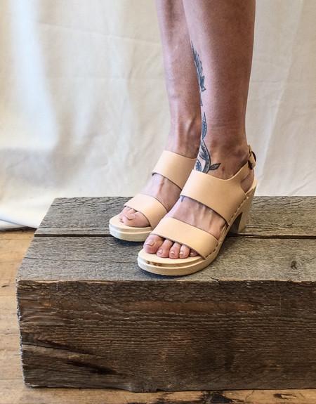 No.6 Harper Clog High Heel