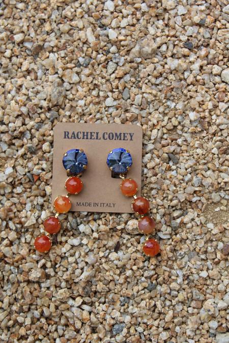 Rachel Comey Parity Earrings Red Lilac