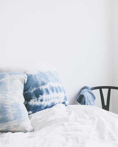 Symmetry & Grace Hand Dyed Linen Pillow Case