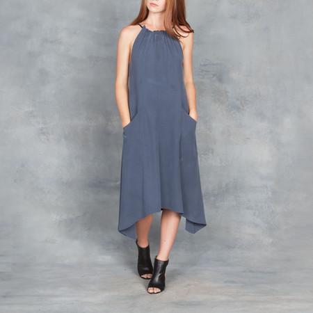 GOSILK Go Silk Go Hanky Dress Midnight