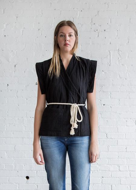 Atelier Delphine Desert Vest Black