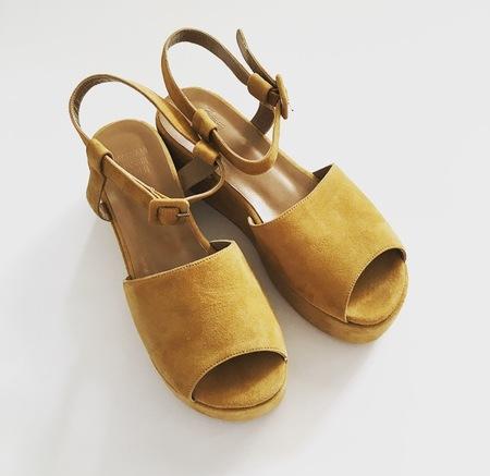 Maryam Nassir Zadeh Suede Sandals, SIZE 7